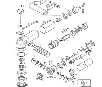 Parts Breakdowns For Air Polishers