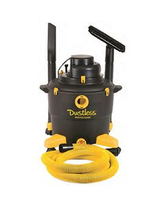 DUSTLESS 16 GALLON WET/DRY  VACUUM