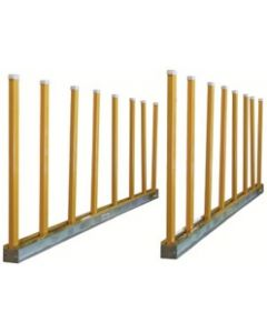 "AARDWOLF LG BUNDLE RACK KIT 2 9' BASE RLS W/ 20 - 5'3""POSTS"
