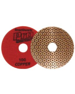 "4"" Pro Series Copper Pads"