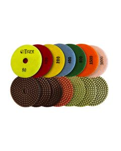 Tiger Series 4-Inch Superflex Wet Pads
