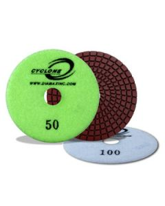 4-Inch Super Flex Wet Polishing Pads