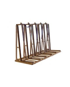 "Groves TRSS2496 96"" Single Sided Transport Rack"