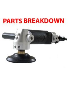 Cyclone MVP Pneumatic Air Polisher Parts Breakdown