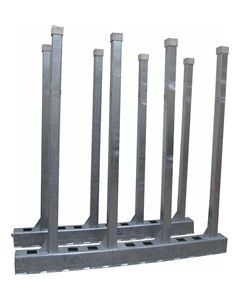 Slab Rack: Weha Bison Interlocking Slab Storage Rack Set