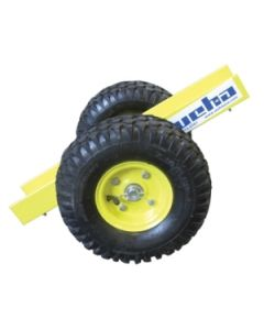 "Weha 2 Wheel Stone Slab Dolly w/10"" Pneumatic Tires"