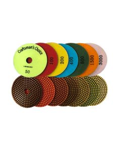 4-Inch Craftsman's Choice Polishing Pads