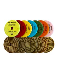 4-Inch Imperial Wet Polishing Pads