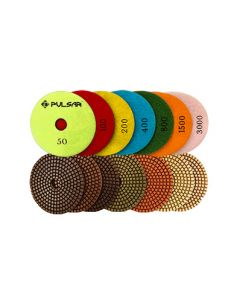 3-Inch Pulsar Wet Polishing Pads