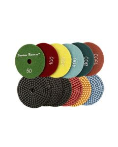 Quartz Renew 6 Step Resin Polishing Pads