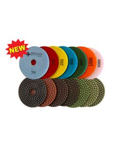 Zenith Spiral 7-Step Wet Polishing Pads