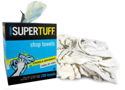 Recycled T-Shirt Rags, Shop Towels