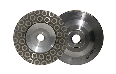 Cyclone Hex Flat Resin Cup Wheels
