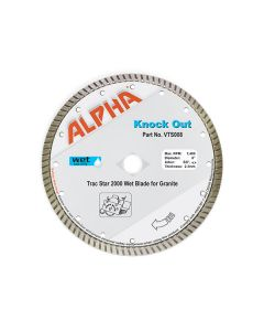 "ALPHA KNOCK-OUT BLADE, 8"", 5/8""-DKO"