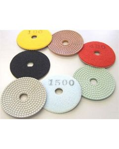 "4"" Diarex Dry Flash Polishing Pads"