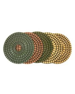 "4"" Diarex 5-Step Dry Polishing Pads"