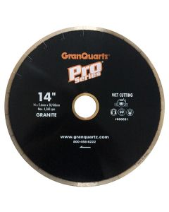 """PRO SERIES SEGMENTED BLADE 14"""" 50/60MM FOR 5HP BLUE RIPPER"""