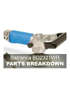Barranca Air Polisher BD-2321WR Parts Breakdown